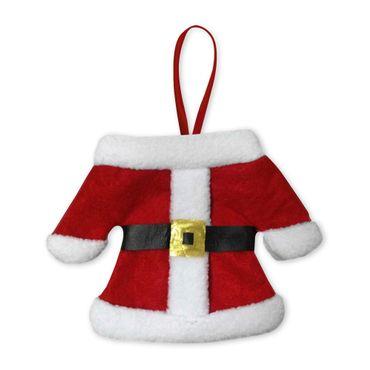 Besteckhalter Weihnachten Bestecktasche 2er Set Besteckbeutel Serviettentasche – Bild 2