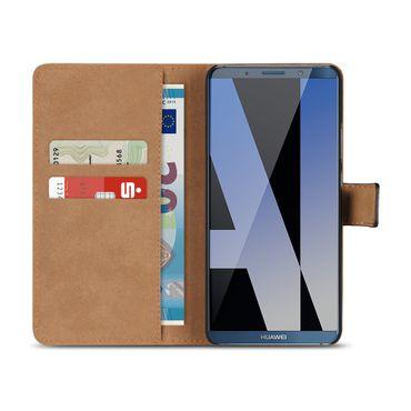 Klapphülle für Huawei Mate 10 20 P30 P20 Lite Pro Leder Tasche Cover Flip Hülle – Bild 14