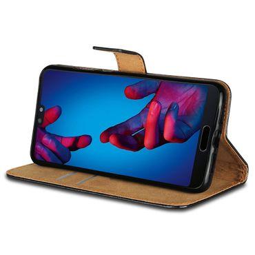 Klapphülle für Huawei Mate 10 20 P30 P20 Lite Pro Leder Tasche Cover Flip Hülle – Bild 25
