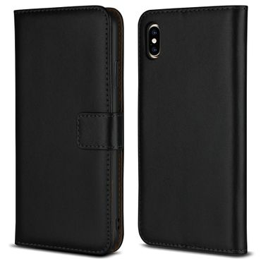 Apple iPhone Xs Max Wallet Handy Tasche Leder Klapphülle Magnet Cover Flip Case – Bild 5
