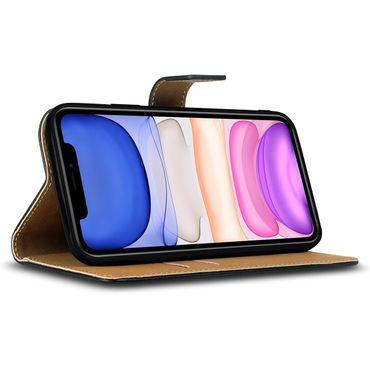 Schutzhülle Apple iPhone 11 Pro Max Xs Xr X Handy Tasche Leder Hülle Flip Case – Bild 9