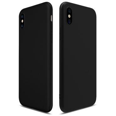 Handy Hülle Apple iPhone Xs Max Schutzhülle Silikon Tasche Case Soft Cover 0,3mm – Bild 2