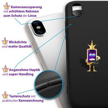 Apple iPhone Xs Hülle Silikon Schutzhülle Handy Tasche Slim Case Back Soft Cover – Bild 9