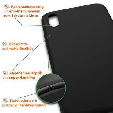 Handy Hülle Apple iPhone Xr Schutzhülle Silikon Tasche Slim Case Soft Cover Dünn – Bild 7