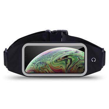 Apple iPhone Xs Max Jogging Tasche Hülle Fitnesstasche Bauchtasche Lauf Case Bag – Bild 1
