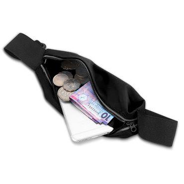 Apple iPhone Xs Max Jogging Tasche Hülle Fitnesstasche Bauchtasche Lauf Case Bag – Bild 4