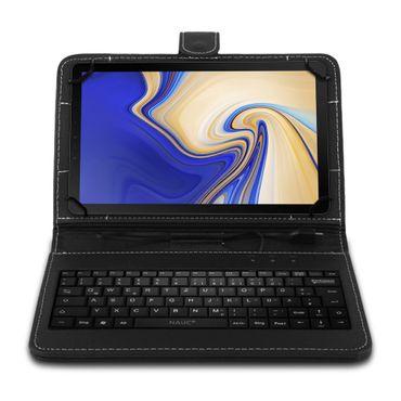 Samsung Galaxy Tab S4 10.5 Tablet Tasche USB Tastatur Keyboard Hülle Schutzhülle – Bild 2