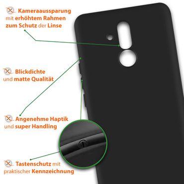 Handy Hülle Huawei Mate 20 Lite Schutzhülle Silikon Tasche Case Soft Cover 0,3mm – Bild 9
