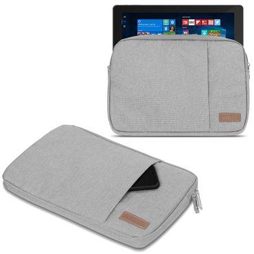 Laptop Tasche Odys Maven Win 12 Pro Hülle Schutzhülle Schwarz/Grau Sleeve Cover – Bild 8