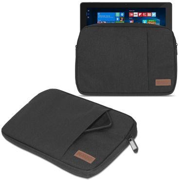 Laptop Tasche Odys Maven Win 12 Pro Hülle Schutzhülle Schwarz/Grau Sleeve Cover – Bild 2