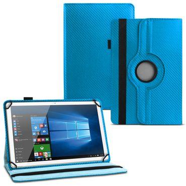 Tablet Hülle für Lenovo Tab E7 Tasche Carbon-Optik Schutzhülle Cover 360 Drehbar – Bild 25