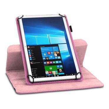 Tablet Hülle für Lenovo Tab E7 Tasche Carbon-Optik Schutzhülle Cover 360 Drehbar – Bild 21
