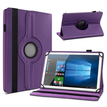 Lenovo Tab E8 Hülle Tablet Tasche Schutzhülle Case Cover Carbon-Optik Drehbar – Bild 14