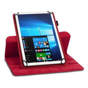 Lenovo Tab E8 Hülle Tablet Tasche Schutzhülle Case Cover Carbon-Optik Drehbar – Bild 10