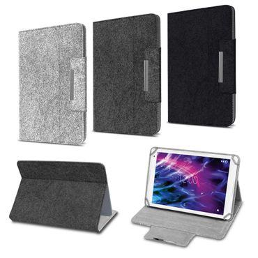 Tablet Hülle Medion Lifetab P10612 Filz Tasche Schutzhülle Klapp Schutz Cover – Bild 1