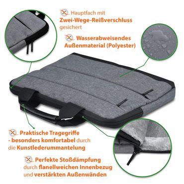 Laptop Tasche Medion Akoya S6445 Notebook Sleeve Hülle Case Schutzhülle Cover – Bild 15