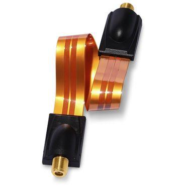 SAT Antennenkabel extrem flach 10x Kabel Fensterdurchführung F Kupplung F Buchse – Bild 7