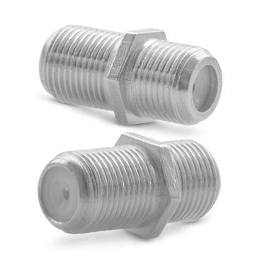 F-Verbinder Sat Kupplung 16x High End Adapter Buchse Antennen Kabel Koaxialkabel – Bild 5