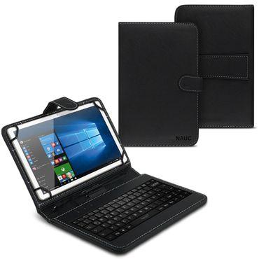 Tablet Tasche für Wortmann Terra Pad 1005 Hülle Tastatur Schutzhülle QWERTZ Case – Bild 1