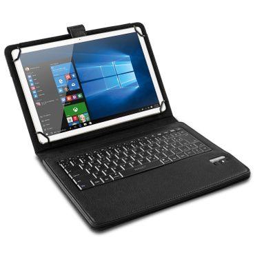 Tablet Tasche für Wortmann Terra Pad 1005 Tastatur Hülle Bluetooth QWERTZ Case – Bild 3