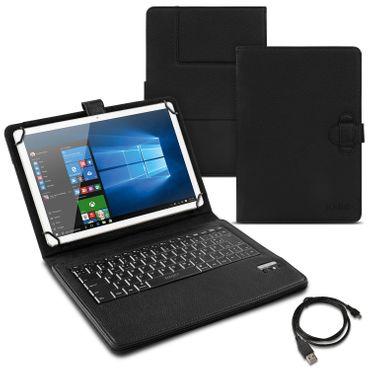 Tablet Tasche für Acer Iconia One 10 B3-A32 Tastatur Hülle Bluetooth QWERTZ Case – Bild 1