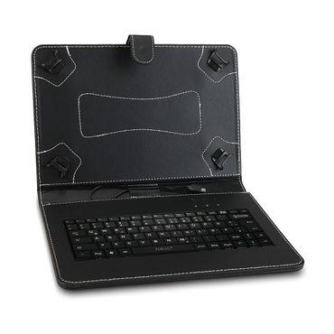 Tablet Tasche Lenovo Tab P10 Keyboard Hülle USB Tastatur Schutzhülle QWERTZ Case – Bild 5