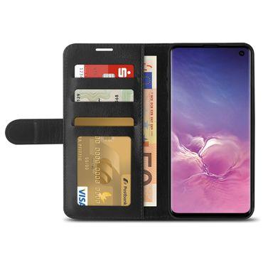 Schutzhülle für Samsung Galaxy S10 Hülle Flip Case Tasche Book Cover Klapphülle – Bild 4