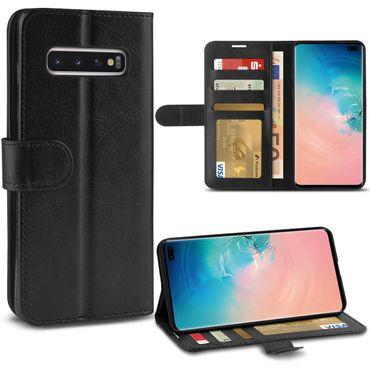 Schutzhülle Samsung Galaxy S10 Plus Tasche Schutz Hülle Cover Klapptasche Case – Bild 1