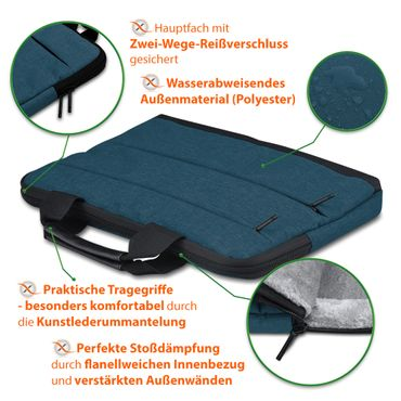 Laptop Tasche Medion Akoya E6645 Notebook Sleeve Hülle Case Schutzhülle Cover – Bild 22