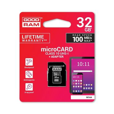 GoodRam 32GB High Speed Speicherkarte + Adapter Ultra microSDXC bis zu 100MB/Sek – Bild 6