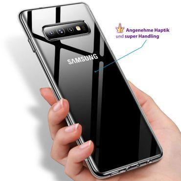 Silikon Handy Hülle Samsung Galaxy S10 Ultra Slim Schutzhülle Bumper Case Cover – Bild 5