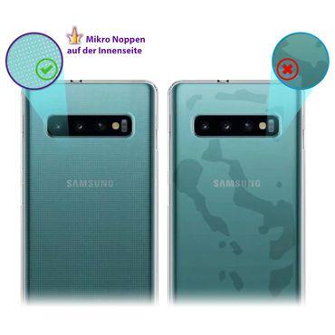 Silikon Hülle Samsung Galaxy S10e S10 / Plus Ultra Slim Schutzhülle Case Cover – Bild 7