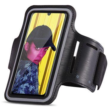 Schutzhülle Huawei P smart 2019 Jogging Tasche Hülle Sportarmband Fitnesstasche – Bild 1