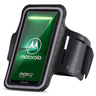 Schutzhülle für Motorola Moto G7 Jogging Handy Tasche Hülle Sportarmband Fitness – Bild 1