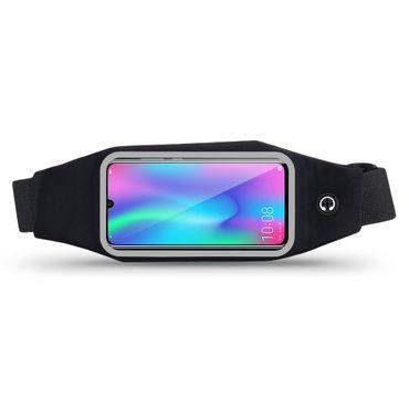 Gürteltasche Huawei Honor 10 Lite Bauchtasche Hüft Tasche Handy Hülle Lauftasche – Bild 2