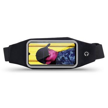 Gürteltasche Huawei P smart 2019 Bauchtasche Hüft Tasche Handy Hülle Lauftasche – Bild 2