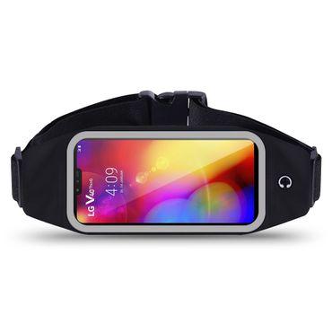 Bauchtasche für LG V40 ThinQ Jogging Tasche Hülle Fitnesstasche Lauftasche Sport – Bild 1