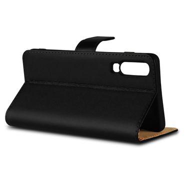 Leder Tasche Huawei P30 Hülle Schutzhülle Schwarz Book Cover Flip Case Magnet – Bild 7