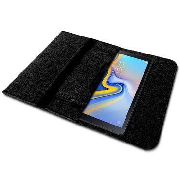 Schutzhülle Samsung Galaxy Tab S5e Sleeve Tasche Hülle Filz Case Tablet Cover – Bild 3