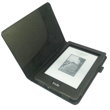 Tasche Hülle für Kindle Paperwhite 2.Generation Case Schutzhülle schwarz + Folie – Bild 2