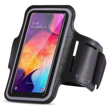 Sportarmband Samsung Galaxy A20e Jogging Tasche Hülle Fitnesstasche Sport Case – Bild 1