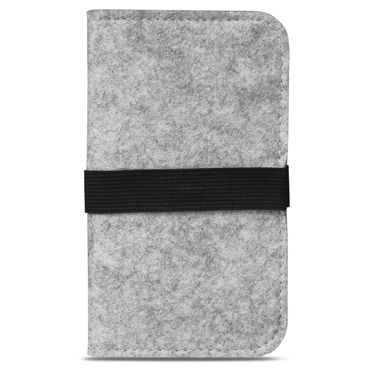 Handy Hülle für Samsung Galaxy A50 Filz Tasche Schutzhülle Filzhülle Cover Case – Bild 10