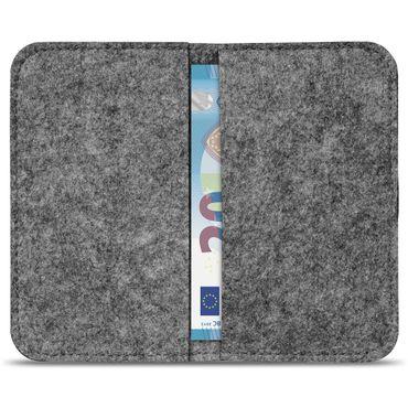 Handy Hülle für Samsung Galaxy A20 Filz Tasche Schutzhülle Filzhülle Cover Case – Bild 18
