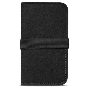 Handy Hülle für Samsung Galaxy A20 Filz Tasche Schutzhülle Filzhülle Cover Case – Bild 4