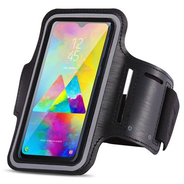 Schutzhülle Samsung Galaxy M20 Jogging Tasche Hülle Sportarmband Fitness Case – Bild 1