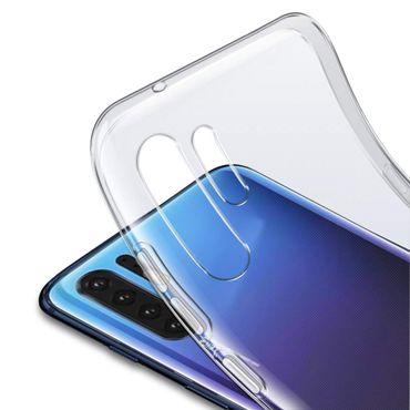 Handy Hülle Huawei P30 Pro Schutzhülle Slim Case Cover Tasche Schutz Transparent – Bild 5