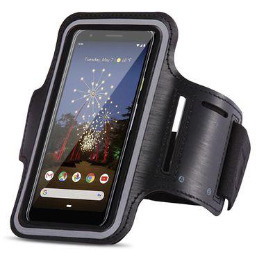 Schutzhülle für Google Pixel 3a Jogging Tasche Hülle Sportarmband Fitness Case – Bild 1