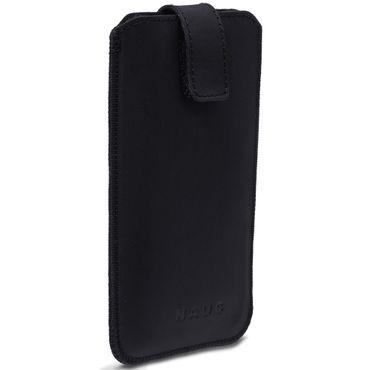 Schutzhülle Huawei P30 Leder Hülle Handy Tasche Pull Tab Schwarz Case Cover   – Bild 3