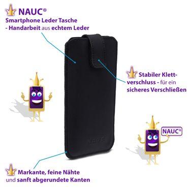 Leder Hülle für Samsung Galaxy A80 Schutz Tasche Handyhülle Pull Tab Schutzhülle – Bild 9