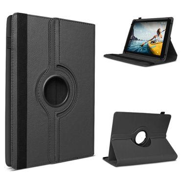 Tablet Hülle Medion Lifetab E10414 Tasche Schutzhülle Cover 360° Drehbar Schwarz